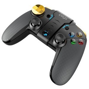 [ipega] iPhone/Android対応ゲームコントローラー 伸縮ホルダー TURBO対応 Bluetooth4.0 設定不要 無線ゲームパット LP-PG9118