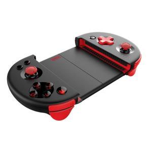 PG9087改良進化版 スマホコントローラー 伸縮式ゲームパッド iPhone/Androidスマホ対応 TUBROボタン Bluetooth4.0 PUBG Mobile/荒野行動など LP-PG9087S