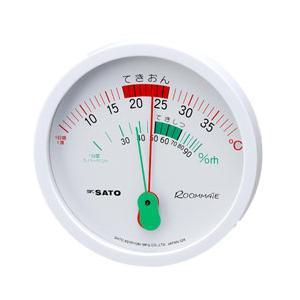 ルームメイト温湿度計 1024-00 SATO 佐藤計量器 lifescale