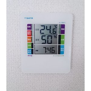 SATO 佐藤計量器 デジタル温湿度計 PC-7980GTI 1078-00|lifescale|03