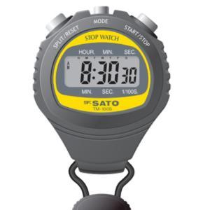 SATO 佐藤計量器 デジタルストップウォッチ TM-100S 1900-00|lifescale