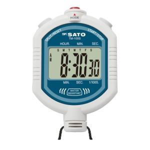 SATO 佐藤計量器 デジタルストップウォッチ TM-105S 1900-10|lifescale