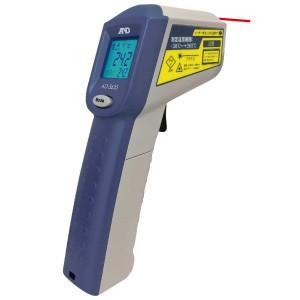 A&D レーザーマーカー付き 赤外線放射温度計 AD-5635 (-38〜365℃)|lifescale