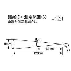 A&D レーザーマーカー付き 赤外線放射温度計 AD-5635 (-38〜365℃)|lifescale|04