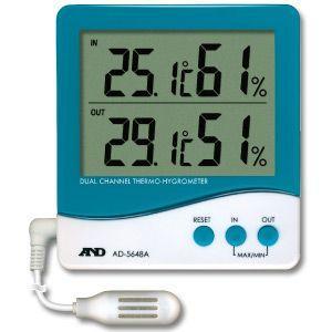 デジタル温度計・温湿度計 AD-5648A A&D|lifescale