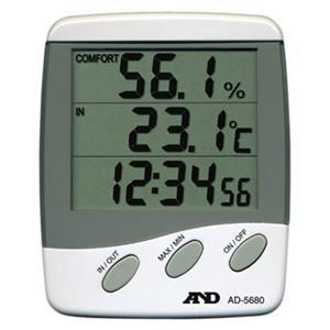 デジタル温度計・温湿度計 AD-5680 A&D|lifescale