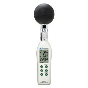 A&D 黒球型 熱中症指数モニター AD-5695DL|lifescale