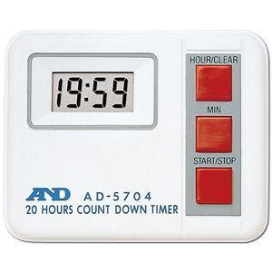 A&D 20時間デジタルタイマー AD-5704 lifescale