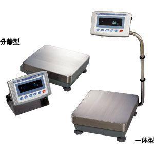 A&D 検定付き 防塵・防水型重量級天びん 校正用分銅内蔵型(分離型) GP-100KSR (秤量:101kg)|lifescale