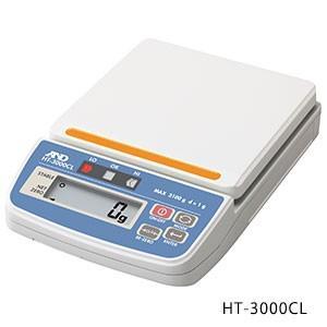 コンパレータライト付き デジタルはかり HT-3000CL ひょう量:3100g A&D|lifescale