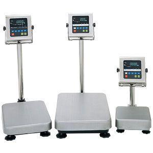 A&D 検定付き 防塵・防水デジタル台はかり HV-200KVWP-K (秤量:60kg/150kg/220kg)|lifescale