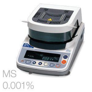 加熱乾燥式水分計 MS-70 A&D lifescale