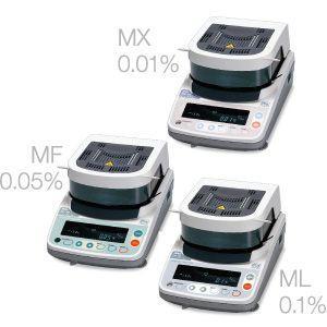 加熱乾燥式水分計 MX-50 A&D lifescale