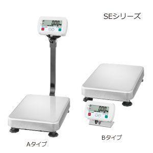 A&D 検定付き 防塵・防水デジタル台はかり 一体型 SE-150KAL-K (秤量:150kg)|lifescale