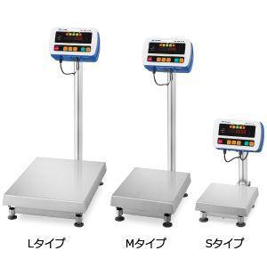 A&D 検定付き 防塵・防水デジタル台はかり SW-150KM-K (秤量:150kg)|lifescale