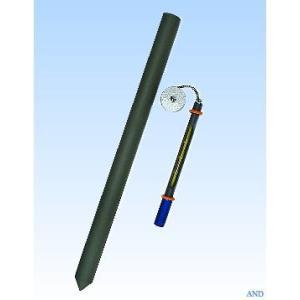 安藤計器 鉄管地温計 1-68-100 (-20〜50℃、100cm用)|lifescale