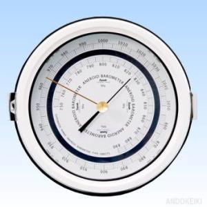 安藤計器 広域型アネロイド気圧計 4-575|lifescale