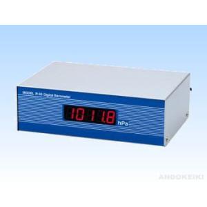 安藤計器 精密型デジタル気圧計 4-R-30|lifescale