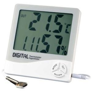 デジタル温湿度計 外部温度センサ付 AE-8130 安藤計器|lifescale