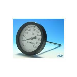 安藤計器 アスファルト温度計 AT-100 (0〜200℃、Φ100L=Φ8×250mm)|lifescale