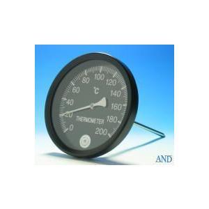 安藤計器 アスファルト温度計 AT-150K (0〜200℃、Φ150L=Φ8×220mm)|lifescale