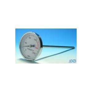 安藤計器 アスファルト温度計 AT-80 (0〜200℃、Φ80L=Φ8×220mm)|lifescale