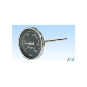 安藤計器 アスファルト温度計 AT-80K (0〜200℃、Φ80L=Φ8×170mm)|lifescale