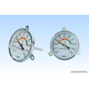 安藤計器 乾燥器用温度計 KS-1 (0〜100℃)|lifescale