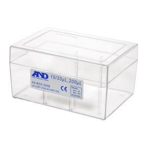 A&D 空ボックス (ロックなし) 10/20/200μL用 AX-BOX-200B|lifescale