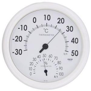 温湿度計 壁掛け用 CR-320 クレセル|lifescale