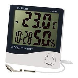 デジタル温湿度計 CTH-250 CUSTOM カスタム|lifescale