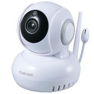 CUSTOM カスタム 温湿度計センサー付きIPカメラ IPC-02TH|lifescale