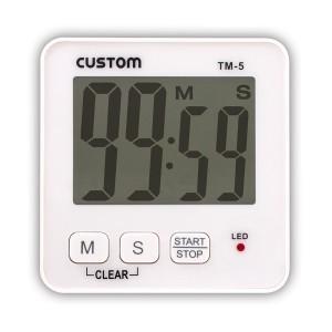 CUSTOM カスタム デジタルタイマー TM-5 lifescale