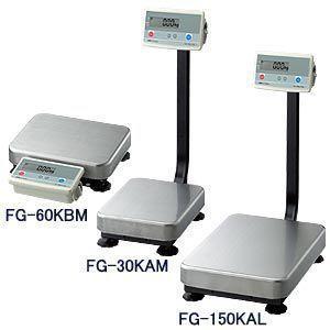 A&D デジタル台はかり ポール無し FG-150KBM (秤量:150kg)|lifescale