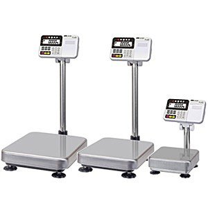 A&D 検定付き 防塵・防水デジタル台はかり HV-60KC-K (秤量:60kg) lifescale