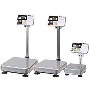 A&D 検定付き 防塵・防水デジタル台はかり 内蔵プリンタ付 HV-60KCP-K (秤量:60kg) lifescale