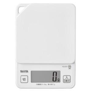 タニタ デジタルクッキングスケール KJ-213 (秤量:2kg)|lifescale