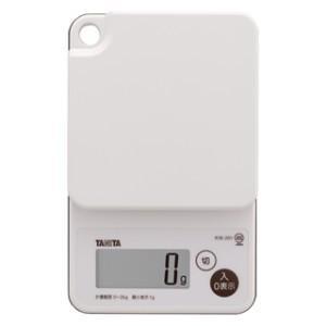 タニタ デジタルクッキングスケール KW-201 (秤量:2kg)|lifescale
