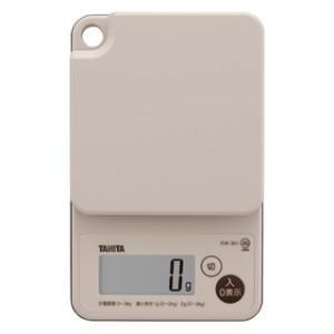 タニタ デジタルクッキングスケール KW-301 (秤量:3kg)|lifescale