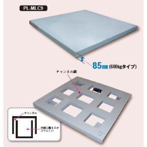 大和製衡 超薄形デジタル台はかり 載台:PL-MLC9 1,000(W)×1,000(D)mm 鉄製 指示計:EDI-/564/565/569 (秤量:1000kg)|lifescale|02