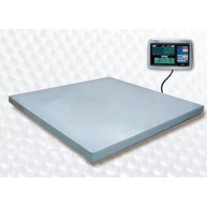 超薄形デジタル台はかり 載台:PL-MLC9 2,000 W ×2,000 D mm ステンレス製 指示計:EDI-562/EDI-564/EDI-565/EDI-569 ひょう量:3000kg 大和製衡|lifescale