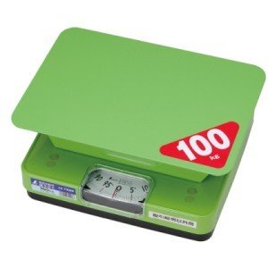 シンワ測定 簡易自動はかり ほうさく 100kg 取引証明以外用 70008 (秤量:100kg) lifescale