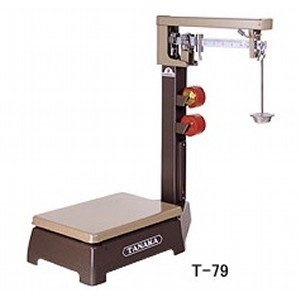 TANAKA 田中衡機 機械式台はかり 規格台ひょう T-79-50(車無) (秤量:50kg)|lifescale