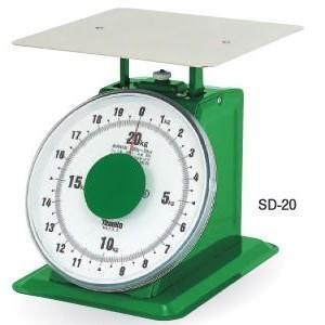 大和製衡 大型上皿はかり SD-20 (秤量:20kg)|lifescale