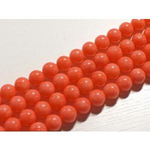 ピンクコーラル(珊瑚) ラウンド8mm 1連  〜商品詳細〜  玉サイズ・・・8mm 連長さ・・・約...