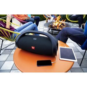 JBL BOOMBOX Bluetoothスピーカー IPX7防水/パッシブラジエーター搭載 ブラック JBLBOOMBOXBLKJN 国内正規品|lifestyle-007|09