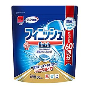 食洗機 洗剤 フィニッシュ タブレット パワーキューブ M 60個