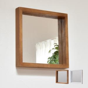 おしゃれな壁掛けミラー ミラー アンティーク風 アンティーク調 木製 幅30 ボックス 北欧 軽量 ANTE アンティーク 木製 シンプル 送料無料|lifestyle-funfun