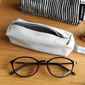 人まえでちょっとかけるのにさりげなくおしゃれなリーディンググラス。初めてのスマホ眼鏡に。 軽量でかけ...