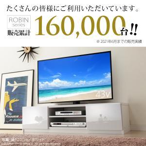 テレビ台 ローボード 背面収納 TVボード 〔ロビン〕 幅120cm テレビボード|liflavor|02